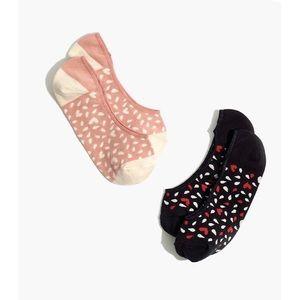 Two-Pack Heart Low-Profile Socks